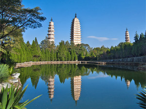 dali pagoda meer china