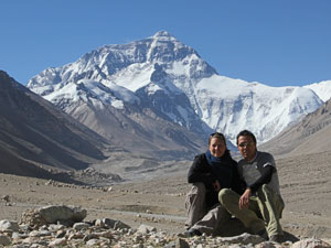 everest samen basecamp china reis