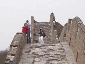 fotografie chinese muur china