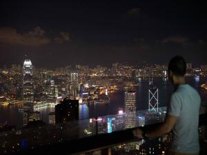 Hongkong uitzicht