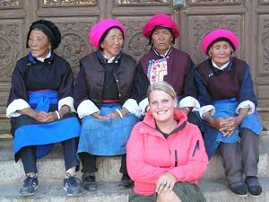 Zhongdian vrouwen - Klooster China
