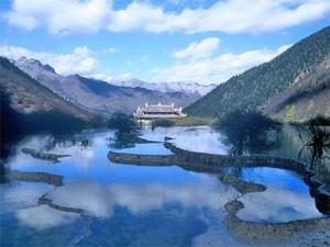 reizen China - Jiuzhaigou park