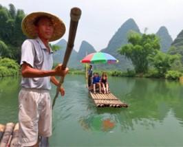 China reis Karstgebergte Yangshuo