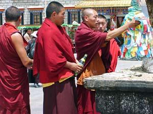 lhasa monniken china reis