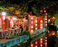 Lampionnen in Lijiang