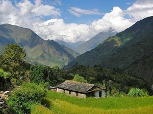 nepal landscape china reis