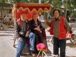 Reis Beijing - Riksja rijden