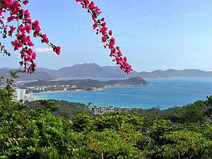 Hainan strand China reizen