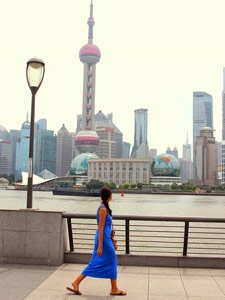 shanghai bund china