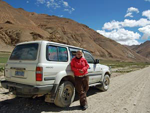tibet reis jeep jorien china