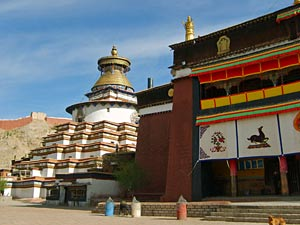 tibet reis qyantse china reis