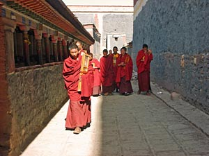 tibet reis sakya monks china