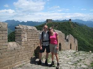 wandelen chinese muur - China individueel