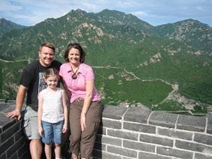 wandelen chinese muur beijing china