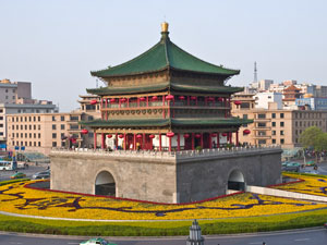 belltower xian china