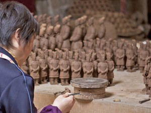 Terracotta leger Xi'an - China reizen