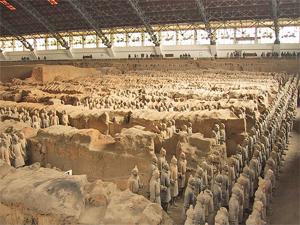 xian terracotta leger hal china