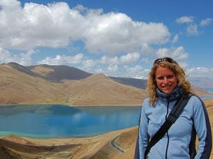 yamdrok tso meer - Tibet Kathmandu reis