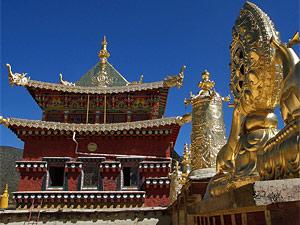 Zhongdian klooster Gompa China