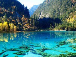 China Jiuzhaigou meren