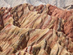 Regenboogbergen Zhangye