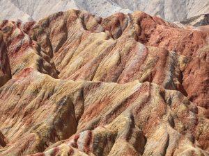 Canyons en Regenboogbergen