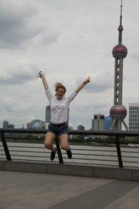 Reisspecialist Bea in Shanghai