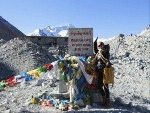 Reisspecialist Bea in Tibet