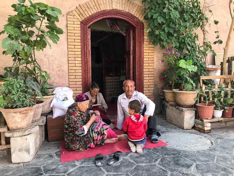 Kashgars_Bazaar China Rondreis