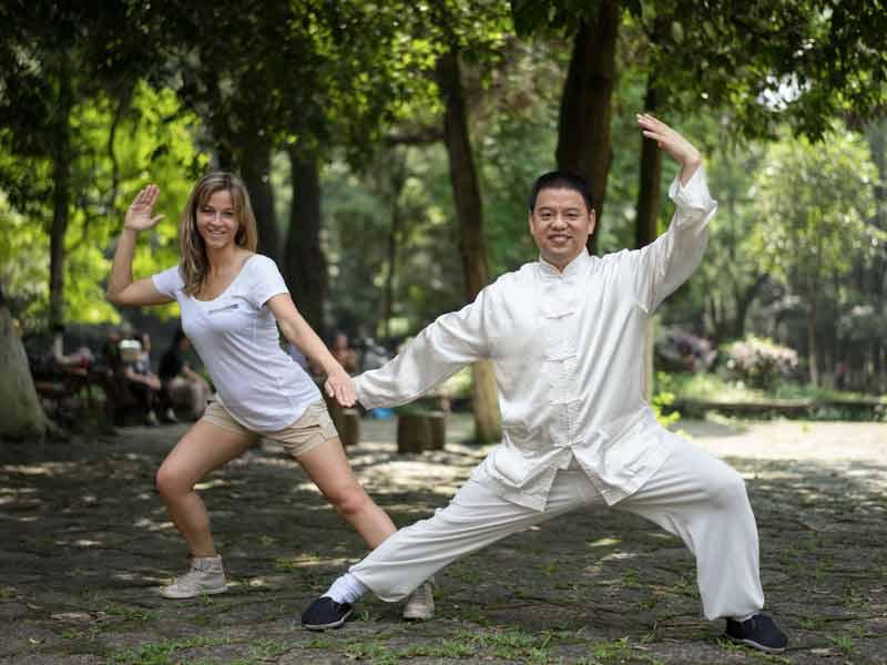China Rondreis Kong_Fu_Fighting_Luoyang