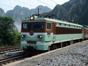 Trein naar Chengde