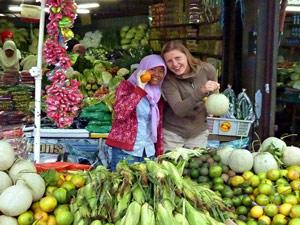 kota kinabalu borneo markt