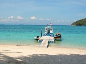 eiland hoppen oostkust maleisie
