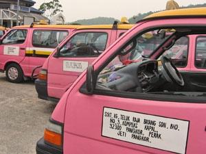 rezien met bus door maleisie