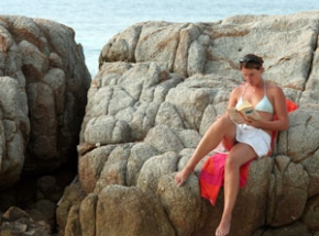 relaxen pulau perhentian maleisie