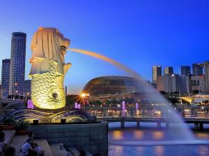 Wolkenkrabben in Singapore