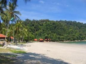 strand pulau pangkor maleisie