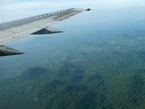 Vliegen Borneo Maleisie - Kinabalu