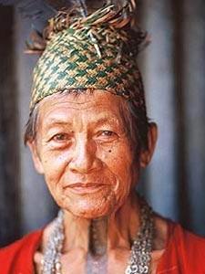 borneo iban chief