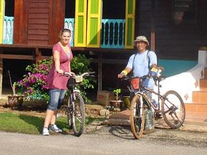 fietstocht maleisie