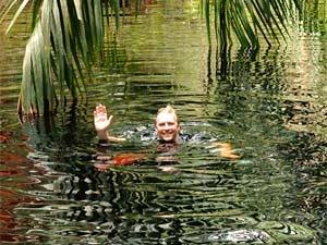 Borneo Mulu National Park - zwemmen