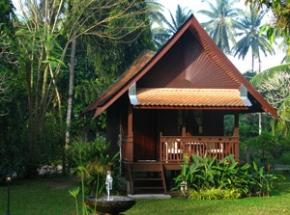 karakter houten huisje maleisie