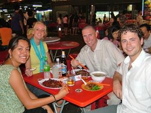 lekker eten chinatown kl maleisie