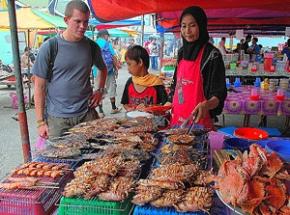 Markt Borneo