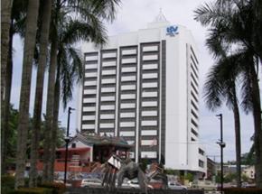 modern hotel kuching borneo