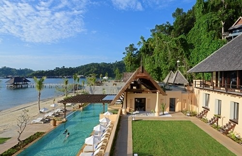 Strand Borneo Gaya Island