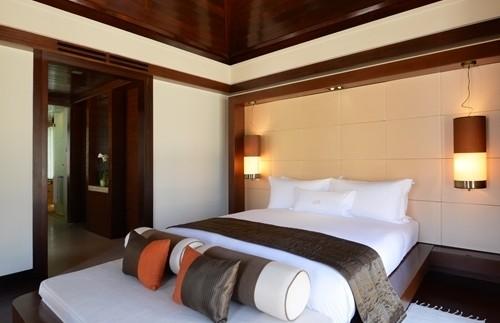 slaapkamer Gaya Island Borneo