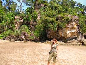strand borneo bako national park