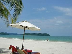 strand langkawi maleisie