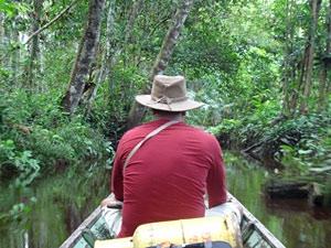 varen jungle Borneo vakantie